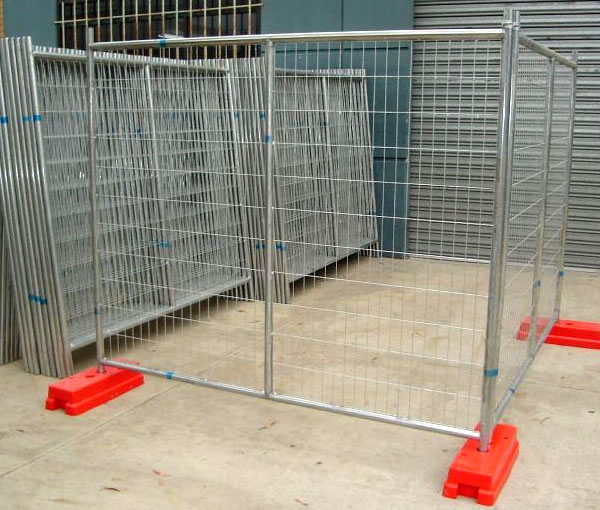 Welded Mesh Portable Fence