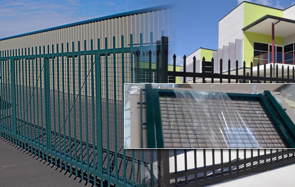 Uptown Security Fencing Panels