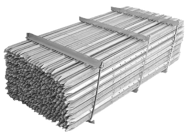 Hot Dipped Galvanized Steel Picket Posts